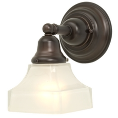 Design Classics Lighting Single-Light Sconce 671-30/G9415 KIT