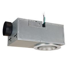 Craftmade Lighting Builder Series White Exhaust Fan with Light