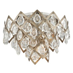 Corbett Lighting Tiara Vienna Bronze Semi-Flushmount Light