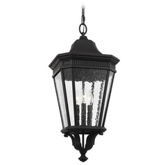 Feiss Lighting Cotswold Lane Black Outdoor Hanging Light