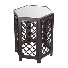 Sterling Lighting Dark Bronze Accent Table