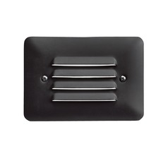 Kichler Lighting Textured Black LED Recessed Deck Light