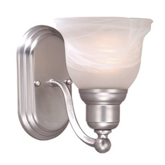 Lasalle Brushed Nickel Sconce by Vaxcel Lighting