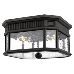 Feiss Lighting Cotswold Lane Black Close To Ceiling Light