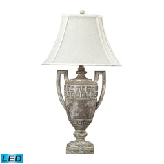 Dimond Lighting Allesandria LED Table Lamp with Bell Shade