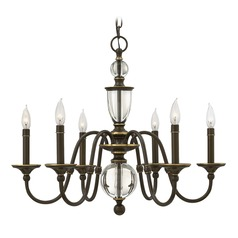 Hinkley Lighting Eleanor Light Oiled Bronze Chandelier