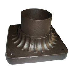 Pier Mount in Oil Rubbed Bronze Finish