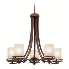 Kichler 5-Light Chandelier in Olde Bronze