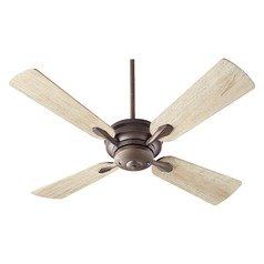 Quorum Lighting Valor Oiled Bronze Ceiling Fan Without Light