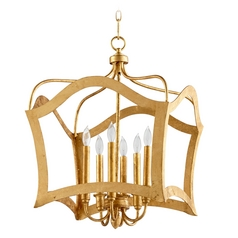 Cyan Design Milan Gold Leaf Pendant Light