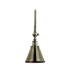 Mini-Pendant Light with Metal Shade