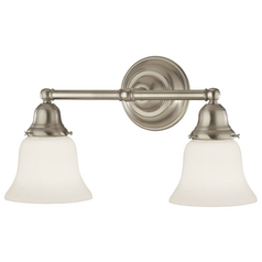 Design Classics Lighting Two-Light Bathroom Light 672-09/G9110 KIT