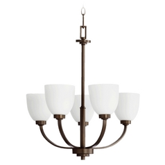 Quorum Lighting Reyes Oiled Bronze Chandelier