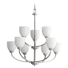 Quorum Lighting Reyes Classic Nickel Chandelier