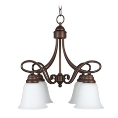 Craftmade Lighting Cordova Old Bronze Mini-Chandelier