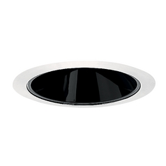 Juno Lighting Group Black Alzak® Cone for 4-Inch Recessed Housing 17B-WH