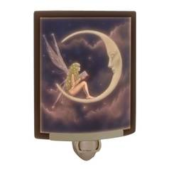 Porcelain Garden Lighting Story Fairy Colored Lithophane Night Light NRC175