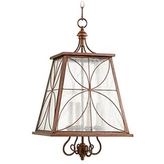 Quorum Lighting Vintage Copper Pendant Light