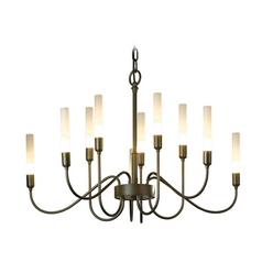 Hubbardton Forge Lighting Lisse Dark Smoke Chandelier