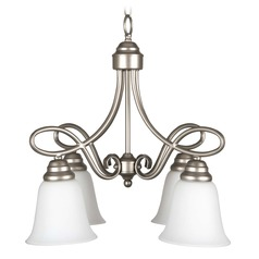 Craftmade Lighting Cordova Satin Nickel Mini-Chandelier