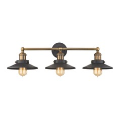 Elk Lighting English Pub Antique Brass, Tarnished Graphite Bathroom Light
