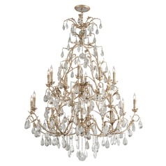 Corbett Lighting Vivaldi Venetian Leaf Chandelier
