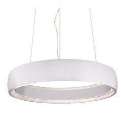 Kuzco Lighting Modern White LED Pendant 3000K 425LM