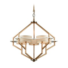 Elk Lighting Warrenton Gold / Polished Nickel Chandelier