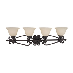 Maxim Lighting Manor Oil Rubbed Bronze Bathroom Light