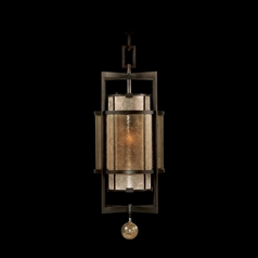 Fine Art Lamps Singapore Moderne Brown Patinated Bronze Pendant Light with Cylindrical Shade