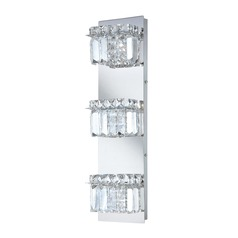 Alico Lighting Crown Chrome Bathroom Light