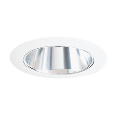 Juno Lighting Haze Alzak® Cone for 4-Inch Recessed Housing 17HZ-WH