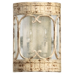 Quorum Lighting Florence Persian White Sconce