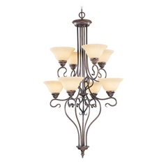Livex Lighting Coronado Imperial Bronze Chandelier