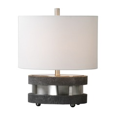 Uttermost Rivard Brushed Nickel Lamp
