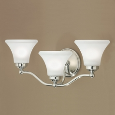 Norwell Lighting Soleil Chrome Bathroom Light
