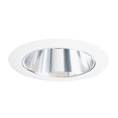 White Alzak Cone for 4-Inch Recessed Housing