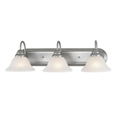 Livex Lighting Coronado Brushed Nickel Bathroom Light