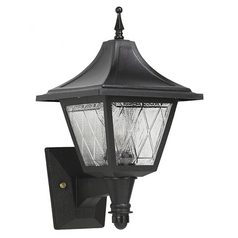 Wave Lighting Marlex Vanguard Black Outdoor Wall Light