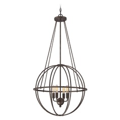 Savoy House Lighting Elgin Galaxy Bronze Pendant Light