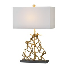 Uttermost Golden Gymnasts Lamp