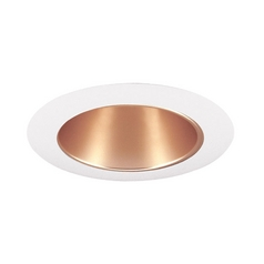 Juno Lighting Group Wheat Haze Alzak® Cone for 4-Inch Recessed Housing 17WHZ-WH