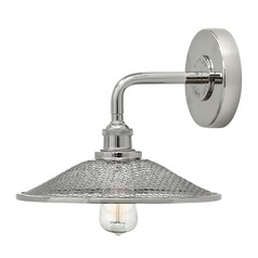 Hinkley Lighting Rigby Polished Nickel Sconce