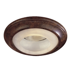 Minka Lighting, Inc. Recessed Trim with White in Nouveau Bronze Finish 2718-63