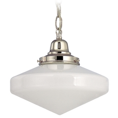 10-Inch Schoolhouse Mini-Pendant Light