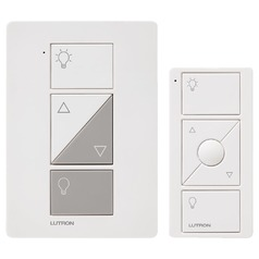 Lutron White Dimmer Switch