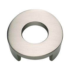Modern Cabinet Knob in Brushed Nickel Finish