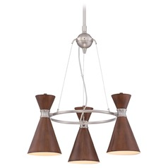 George Kovacs Conic Brushed Nickel Mini-Chandelier