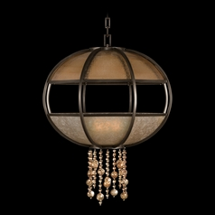 Fine Art Lamps Singapore Moderne Brown Patinated Bronze Pendant Light