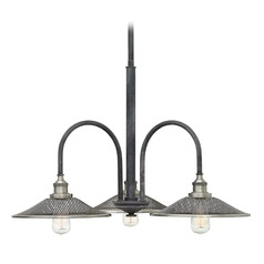 Hinkley Lighting Rigby Aged Zinc Chandelier